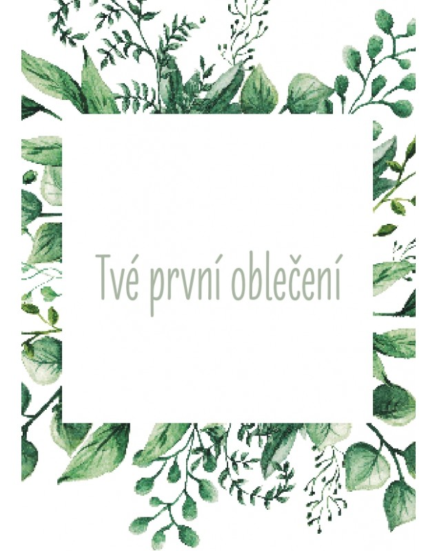 Těhotenské milníkové kartičky Natural