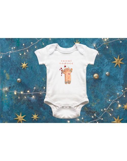 Dětské body Vánoční s perníkem