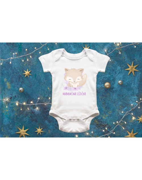 Dětské body Maminčina lištička