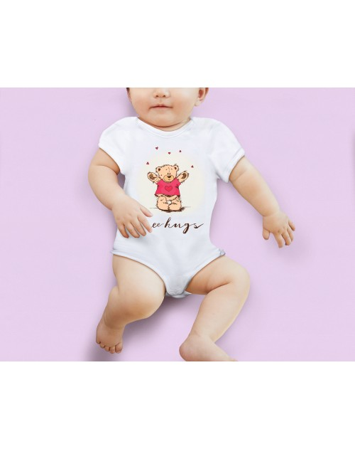 Nádherné dětské body Free Hugs pro vaše miminko