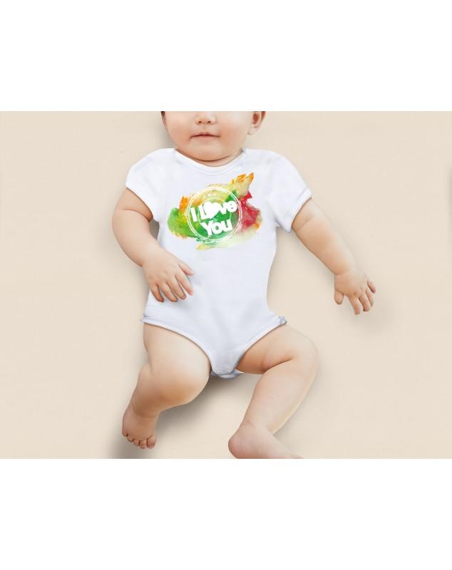 Nádherné dětské body I love you pro vaše miminko