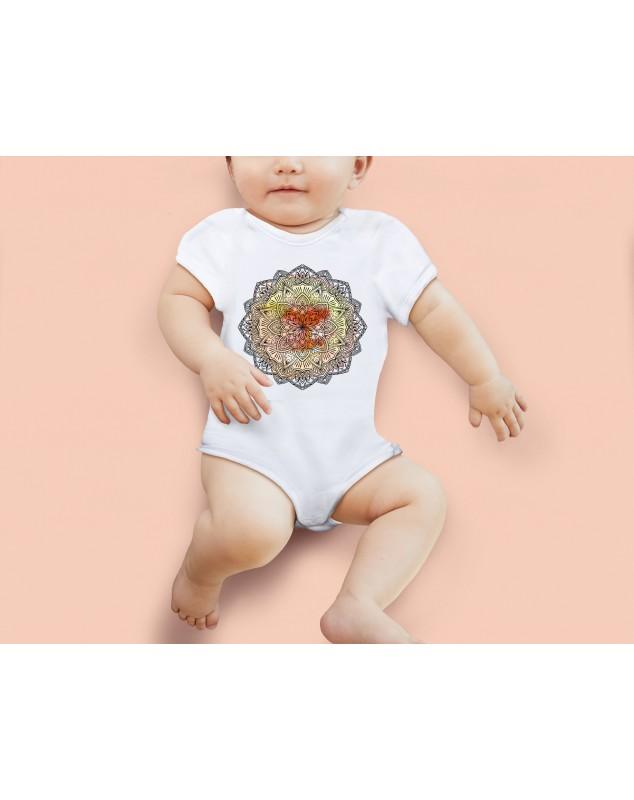 Nádherné dětské body Mandala pro vaše miminko