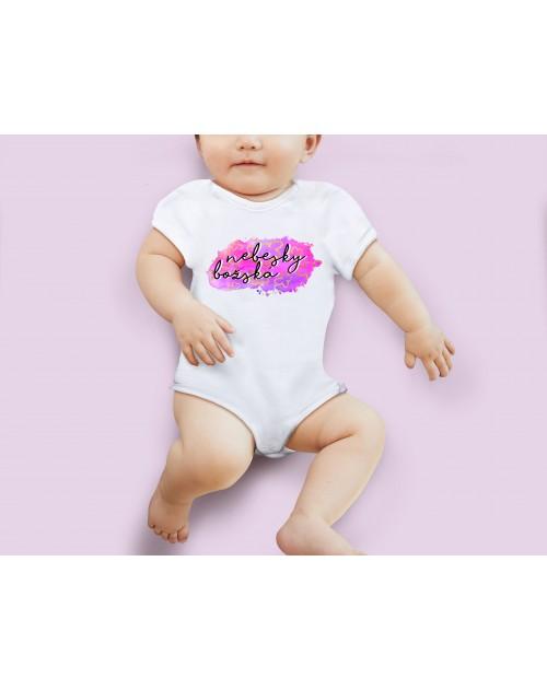 Nádherné dětské body Nebesky božská pro vaše miminko