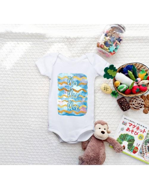 Nádherné dětské body Ňuňu blue pro vaše miminko