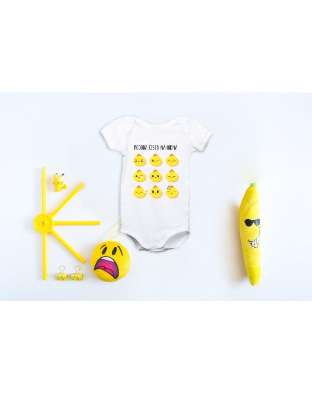 Nádherné dětské body Podoba čistě náhodná pro vaše miminko