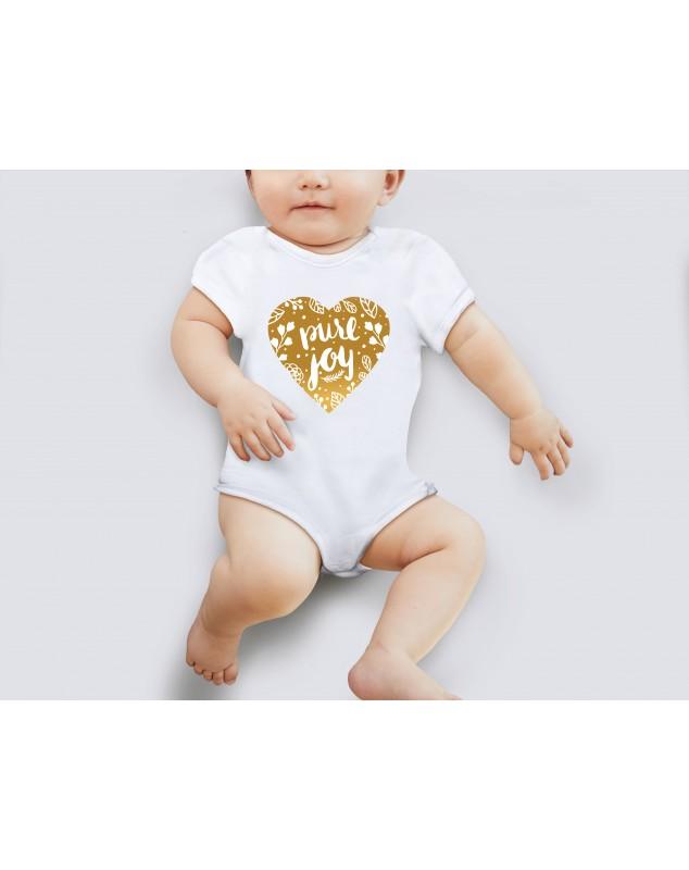 Nádherné dětské body Pure joy pro vaše miminko