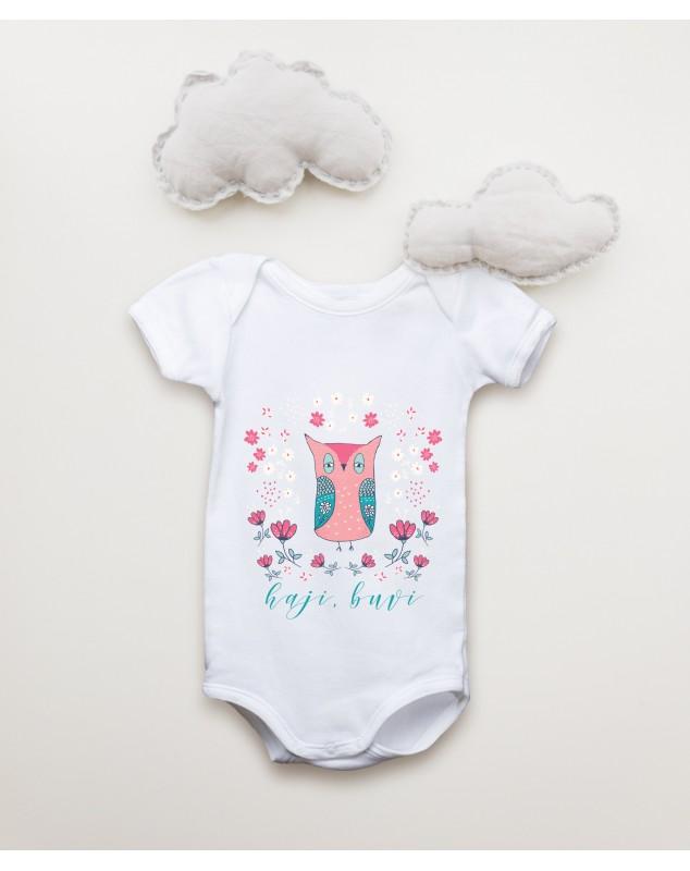Nádherné dětské body Sovička pro vaše miminko