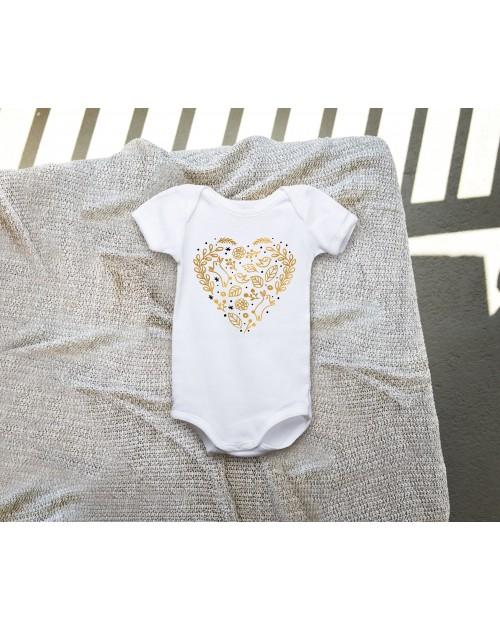 Dětské body - Srdce zlaté