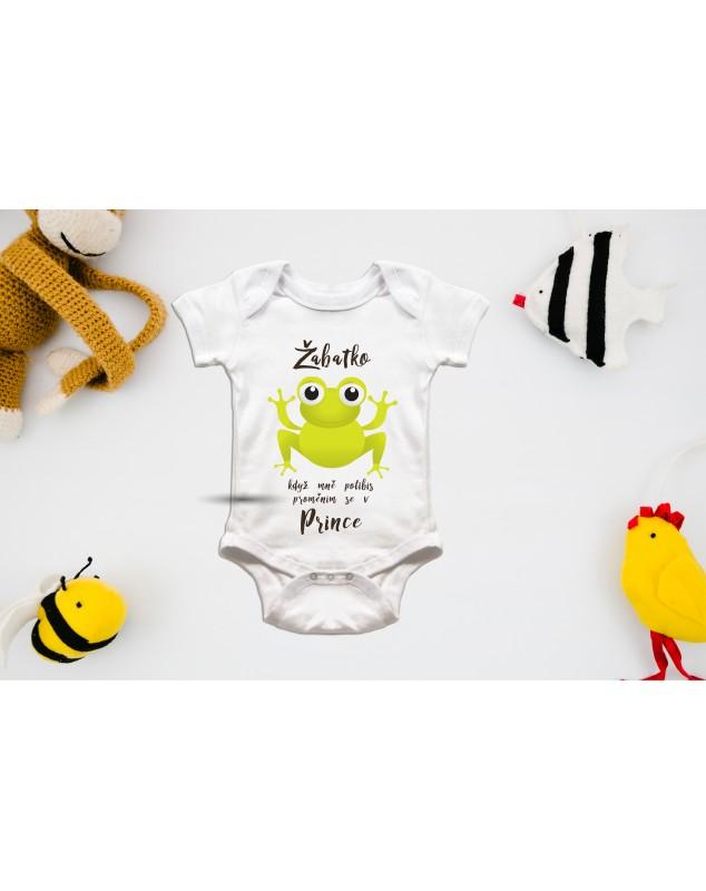 Nádherné dětské body Žabička pro vaše miminko