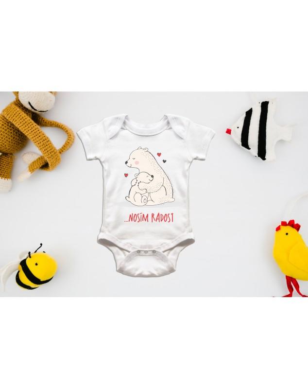 Nádherné dětské body Nosím velkou radost pro vaše miminko