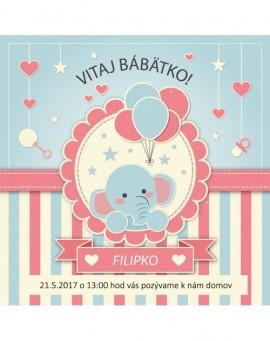 Pozvánky na dětské oslavy